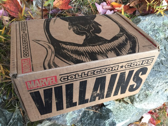 Funko Marvel Collector Corps Villains Box Unboxing