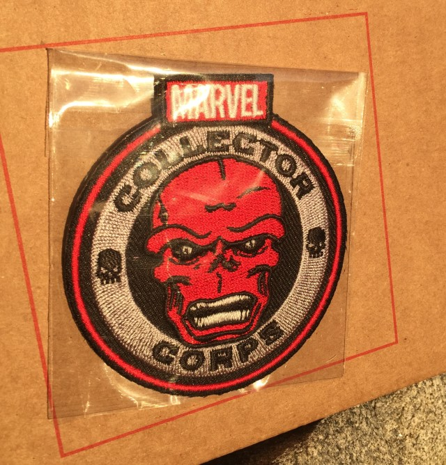 Marvel Collector Corps Red Skull Patch