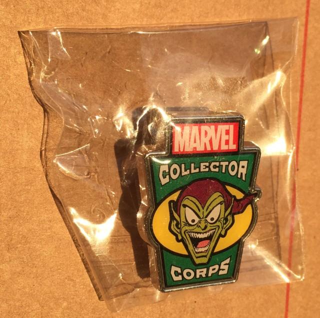 Villains Collector Corps Green Goblin Pin