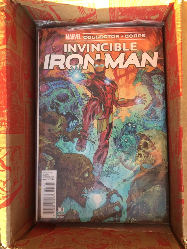 Invincible Iron Man #1 Variant Cover Collector Corps