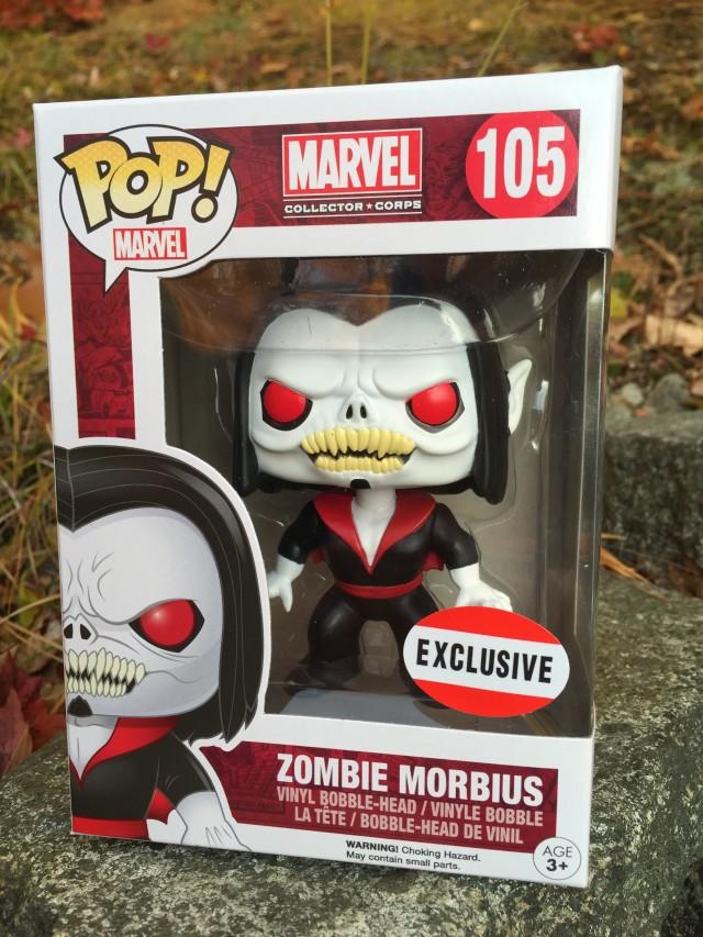 Funko Zombie Morbius POP Vinys Exclusive