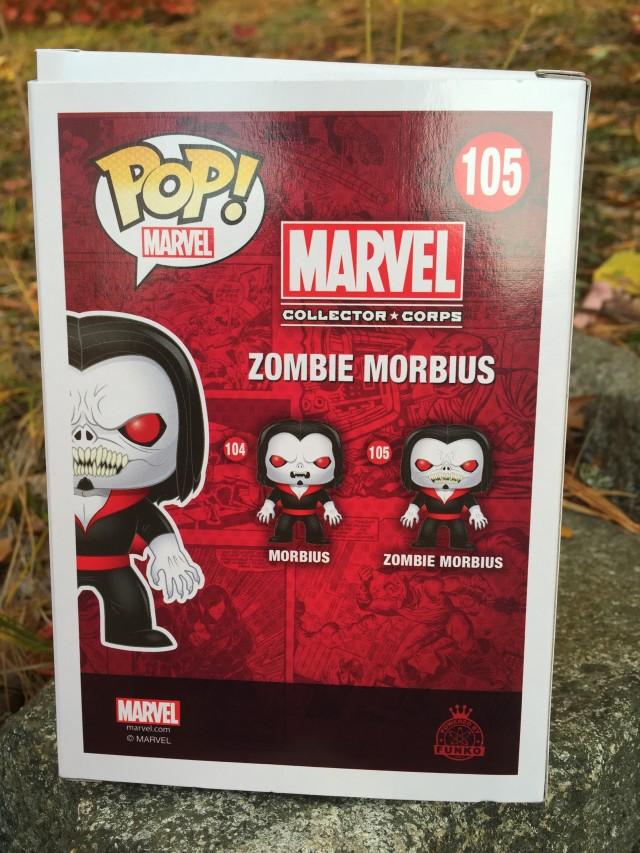 Funko POP Vinyls Morbius & Zombie Morbius Variant Figures