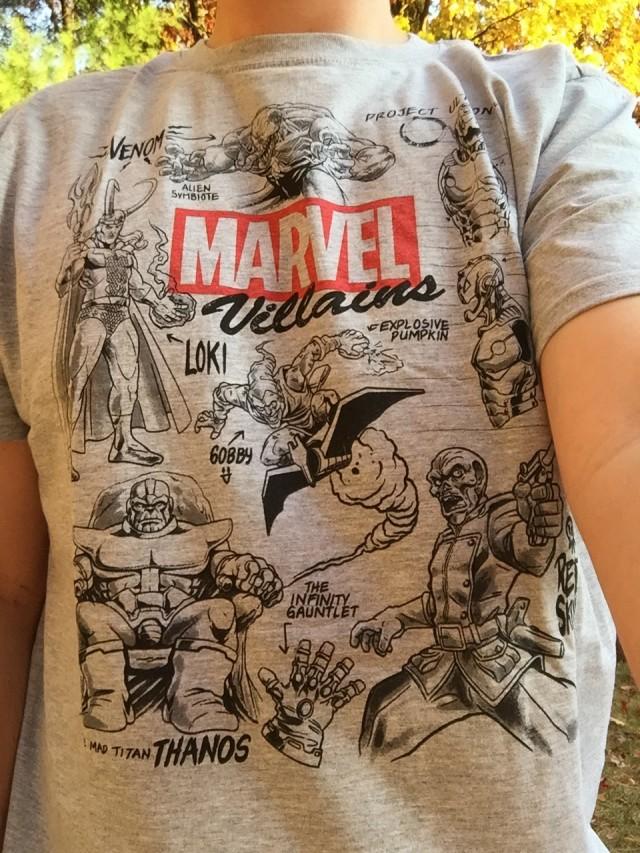 Marvel Collector Corps Villains Shirt Tee