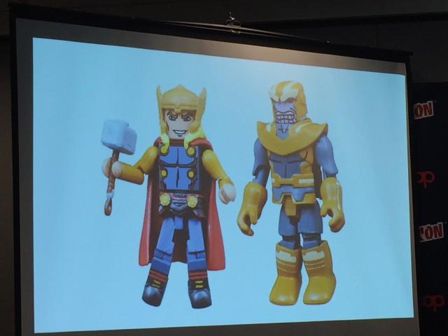 Walgreens Minimates Alternate Universe Thor Thanos Exclusive Figures