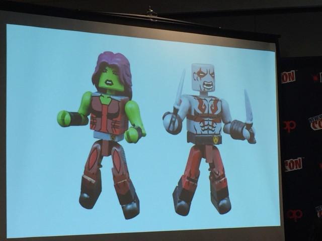 Minimates Marvel Animated Series 2 Gamora Drax Figures