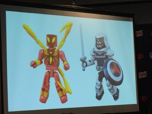 Marvle Animated Minimates Taskmaster Iron-Spider Figures