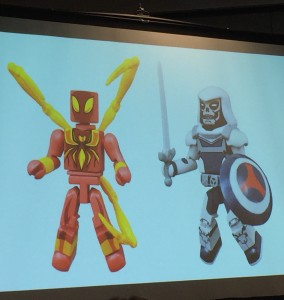 Marvle Animated Minimates Taskmaster Iron-Spider Figures