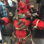 NYCC 2015: Sideshow Marvel Statues! Final 12″ Deadpool!