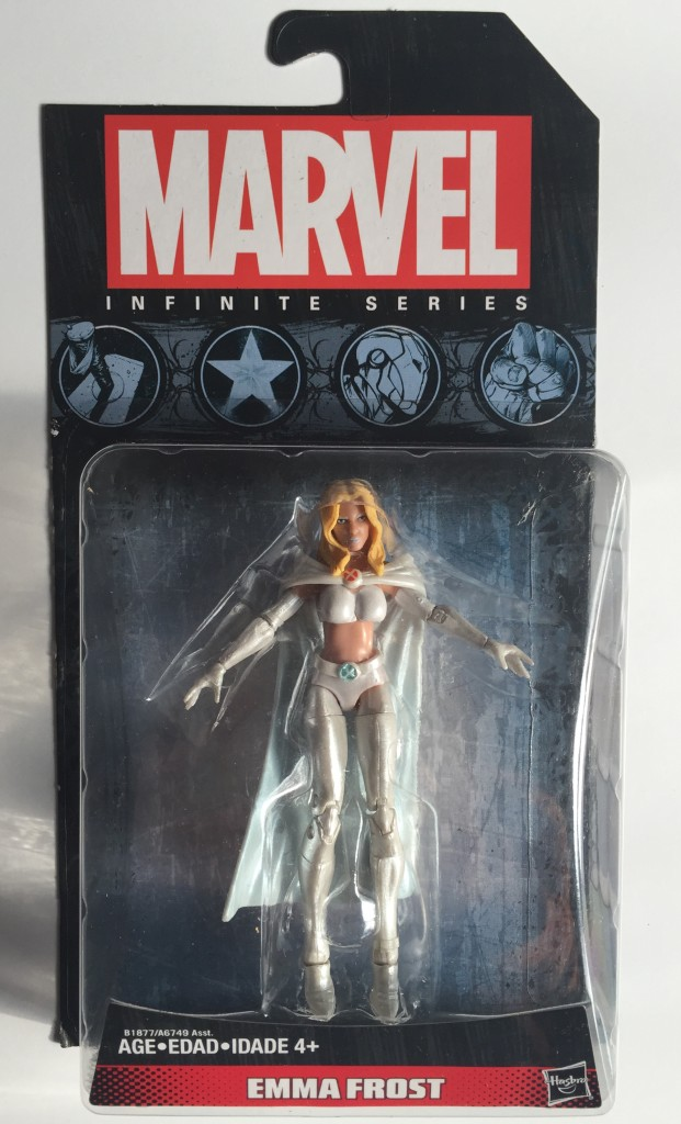 Marvel Infinite Series White Queen Emma Frost Packaged
