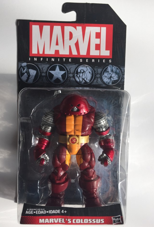 Packaged Marvel Infinite Series Marvel's Colossus Figure