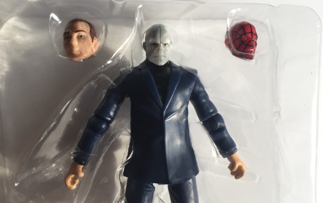 Marvel Infinite Series Chameleon Figure with Alternate Heads