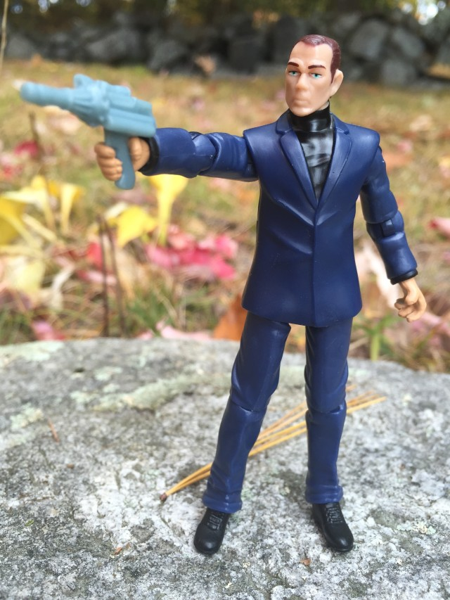 Marvel Universe Chameleon Figure with Gun and Norman Osborn Head
