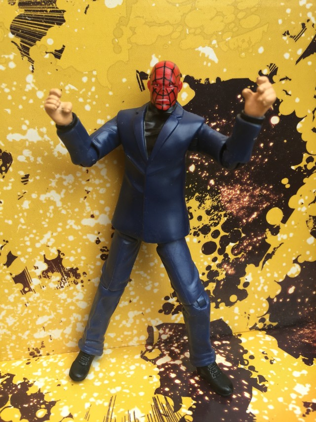 Hasbro Chameleon Figure with Spider-Man Face