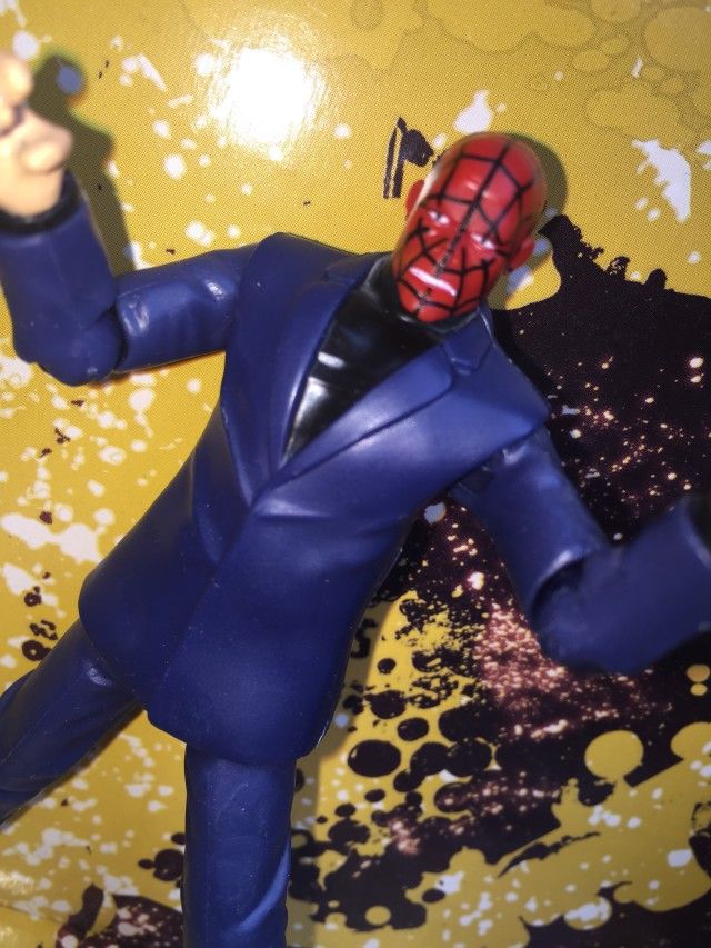 Marvel Infinite Series Chameleon Spider-Man Head Close-Up