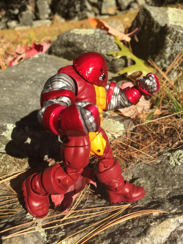 Marvel Infinite Series Unstoppable Colossus Figure Running