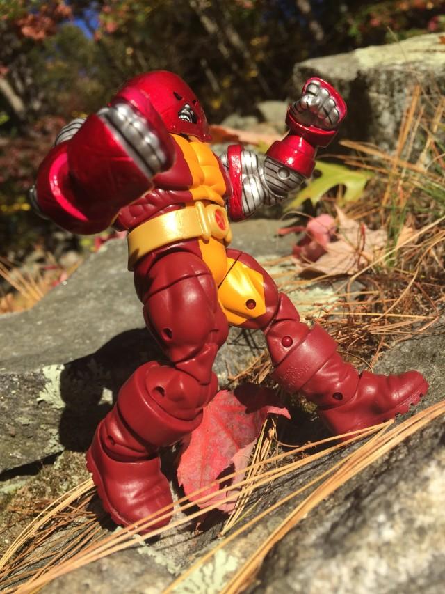 Colossus Juggernaut Hasbro Marvel Universe Figure Running