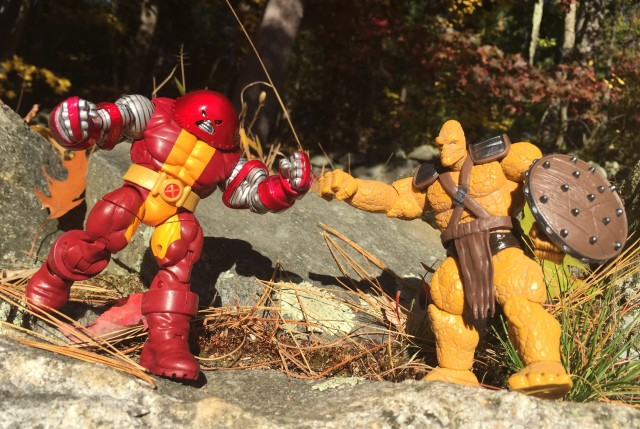 2015 Marvel Infinite Series Juggernaut Colossus vs. Korg