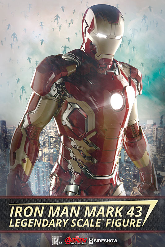 Iron Man Mark 43 Legendary Scale Figure