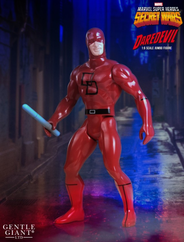 Jumbo Daredevil Secret Wars Figure