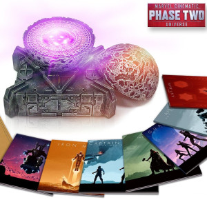 Marvel Cinematic Universe Phase 2 Collection Set with Orb