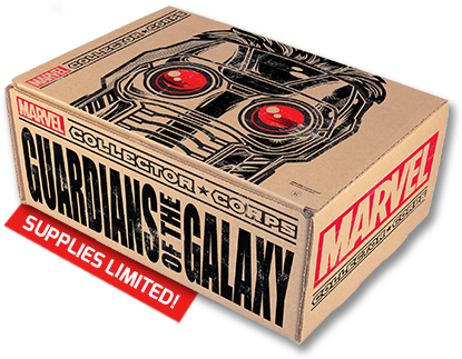 Marvel Collector Corps Guardians of the Galaxy Box