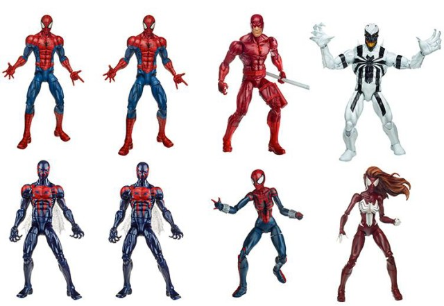 Marvel Legends Spider-Man Hobgoblin Series Case Revision 1