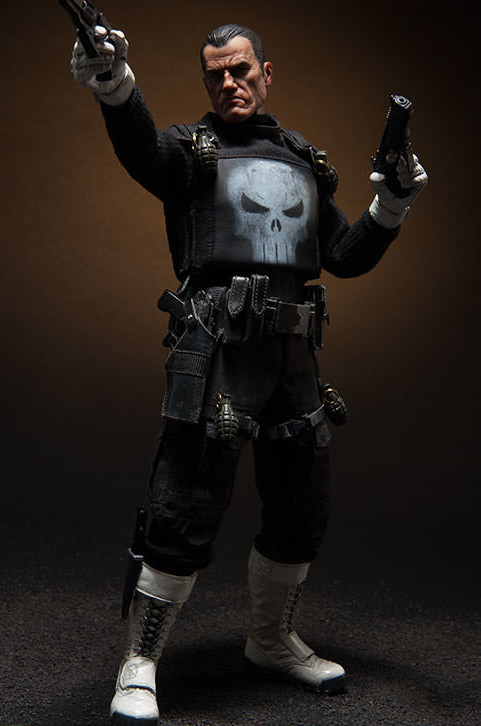 Marvel Sideshow Collectibles The Punisher Sixth Scale Figure