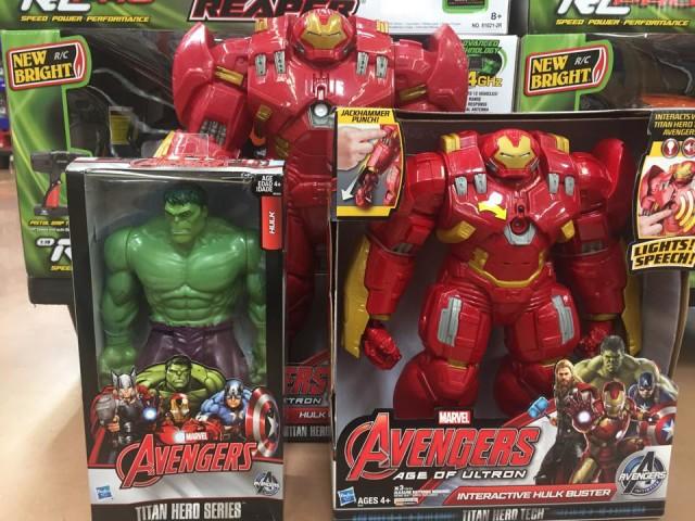 Marvel Titan Hero Hulkbuster Armor 18 Inch Figure Size Scale Comparison