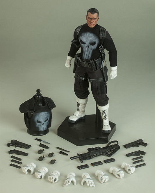 Punisher Sixth Scale Figure and Accessories