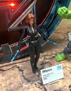 SH Figuarts Black Widow Figure