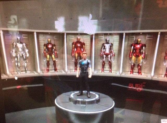 SH Figuarts Tony Stark Iron Man Hall of Armor