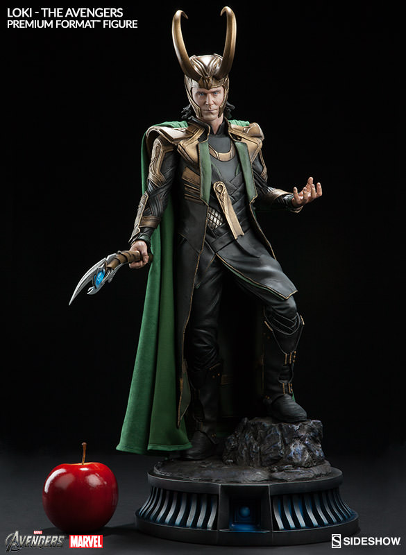 Scale Photo of Loki Sideshow PF Figure Statue