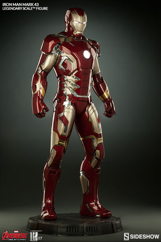 Sideshow 2016 Avengers Age of Ultron Legendary Scale Iron Man Mark 43
