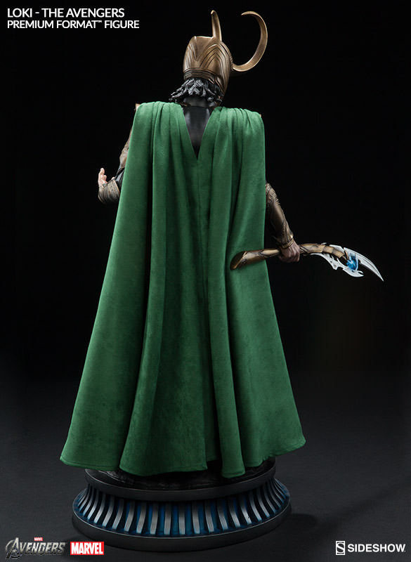 Sideshow Collectibles Loki Premium Format Figure Cape