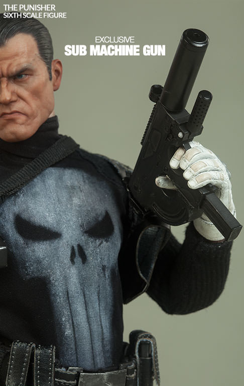 Sideshow Exclusive Punisher Submachine Gun