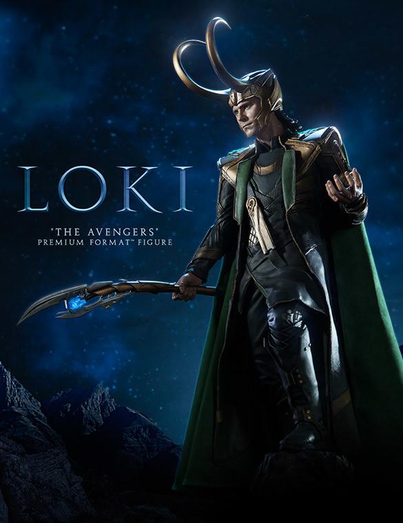 Sideshow Loki Premium Format Figure Statue