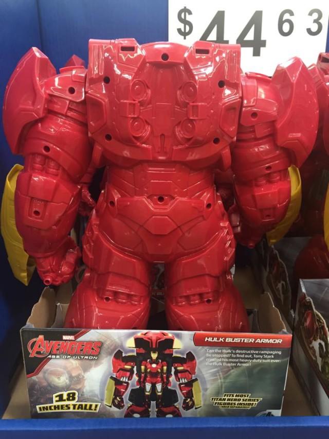 Titan Hero Hulkbuster Armor Figure Back