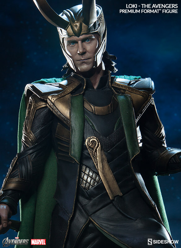 Tom Hiddleston Loki Statue Sideshow Collectibles