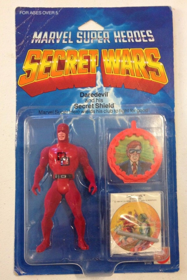 Vintage Mattel Secret Wars Daredevil Figure