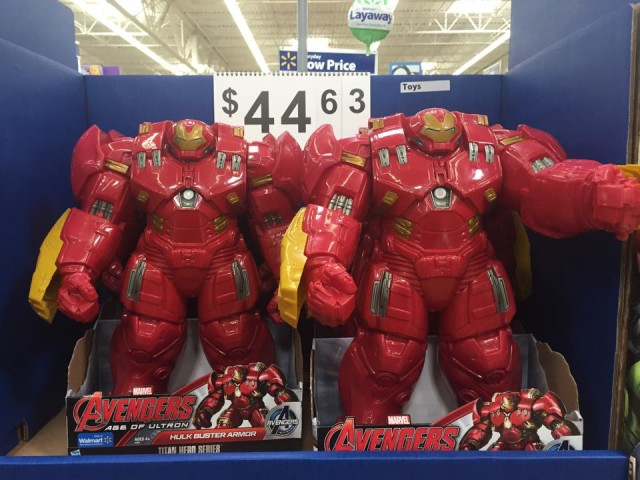 Walmart Exclusive Hulk Buster Armor Titan Hero Series Figure