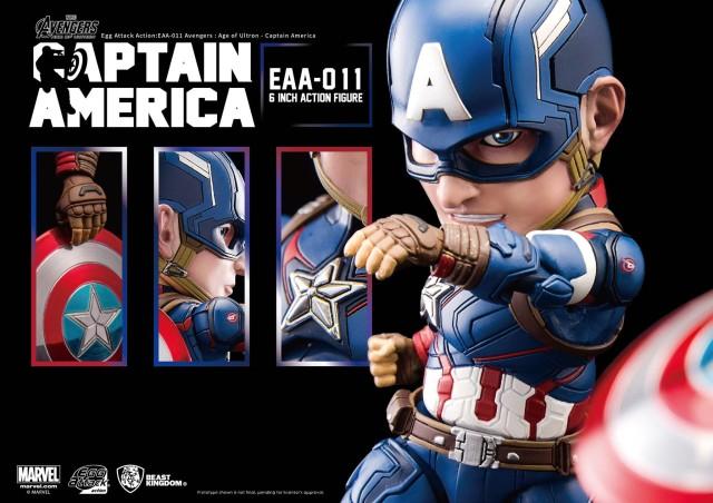Beast Kingdom Captain America Egg Attack Figure