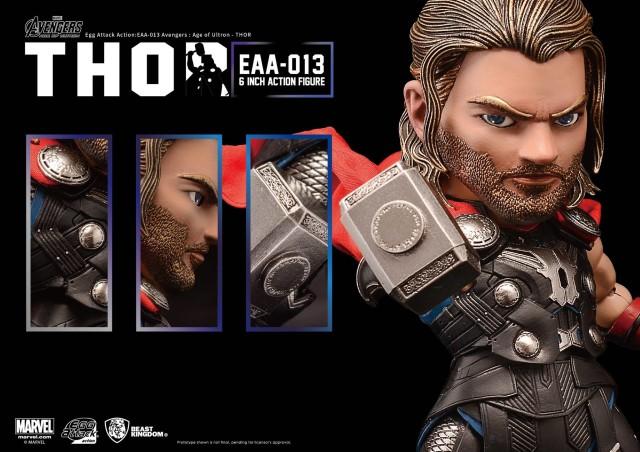 Egg Attack Thor Figure Details