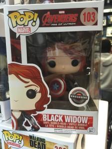 Funko Black Widow with Shield Gamestop Exclusive POP Released