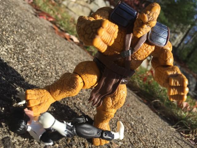 Hasbro Marvel Korg Figure Crushes Northstar