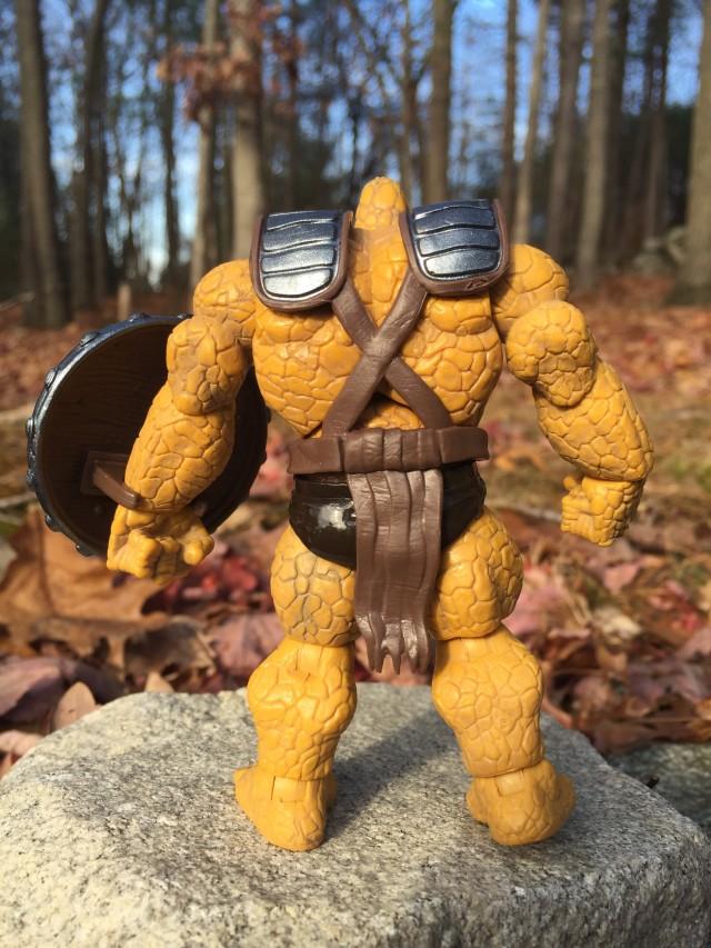 Back of Marvel Infinite Series Korg Action Figure