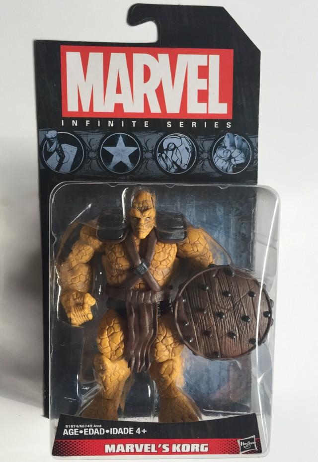 "Packaged Marvel Infinite Series 3 3/4"" Korg Figure"