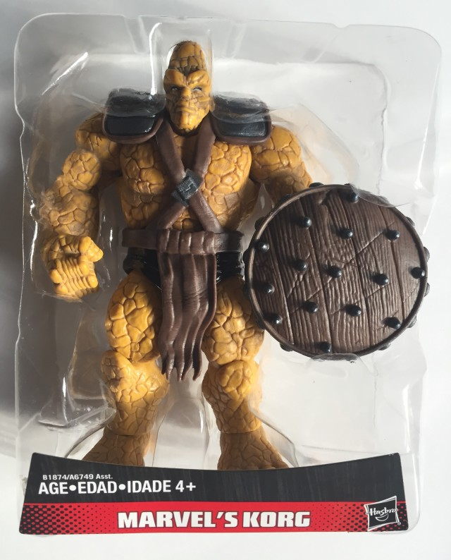 Korg Hasbro Figure with Shield in Bubble