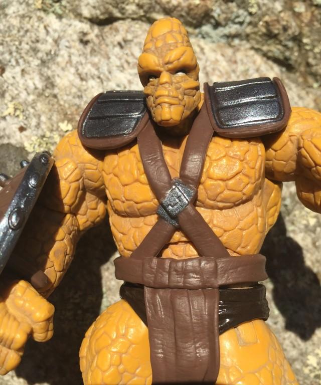 Close-Up of Marvel Legends Infinite Series Korg Figure