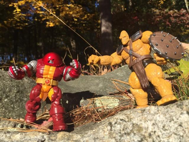 Hasbro Marvel Universe Korg vs. Juggernaut Colossus