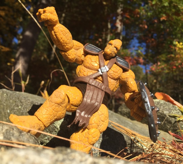 Articulation of Korg the Rock Man Hasbro Figure